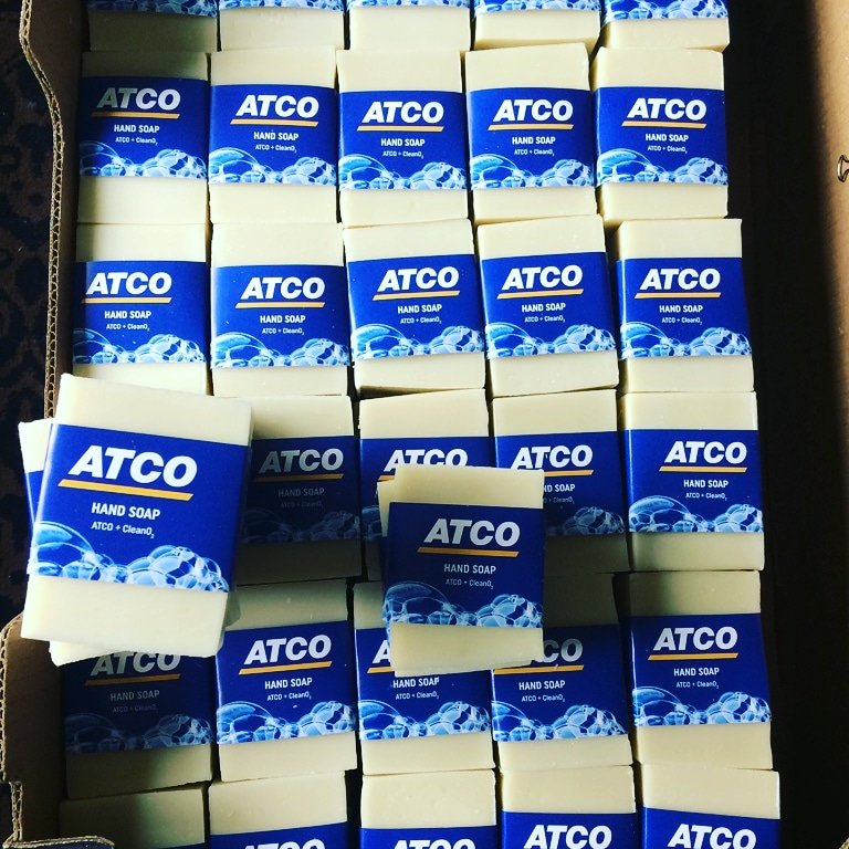 CleanO2 soap for ATCO gas. Courtesy of CleanO2